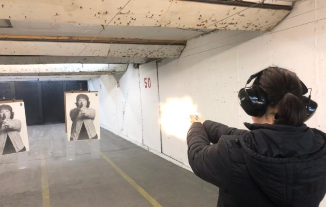 Woman Shooting a Handgun (1)